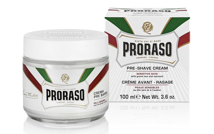 Proraso, Proraso Pre Shave Cream Green Tea & Oatmeal 100ml