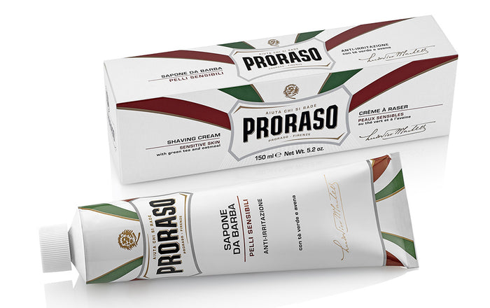 Proraso Shaving Cream Tube Green Tea & Oatmeal 150ml
