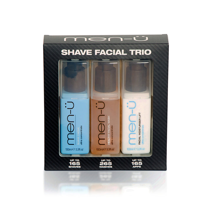 Men u, Men-U Shave Facial Trio