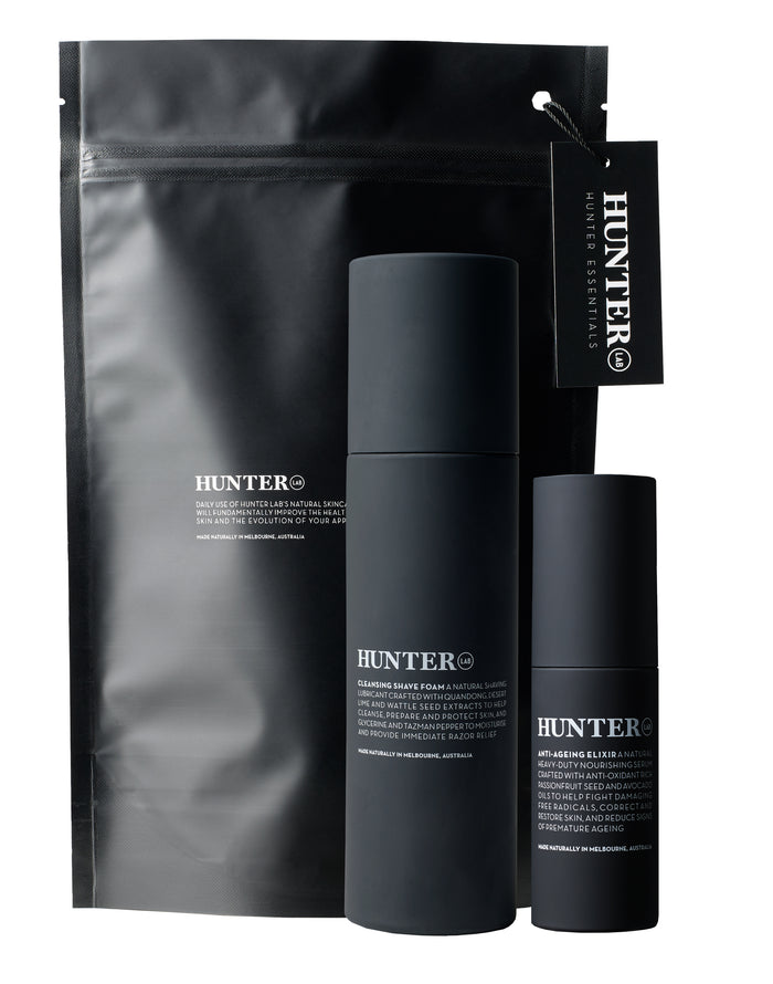 Hunter Lab Smooth Shave Set- Shave Foam- Anti-ageing