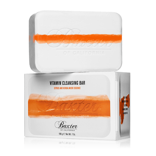 Baxter Vitamin Cleansing Bar Citrus Herbal Musk 198g