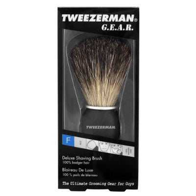 Tweezerman, Deluxe Shaving Brush