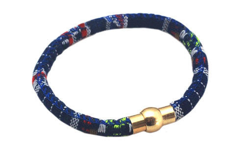 The Abraham Navy Men's Rope Bracelet