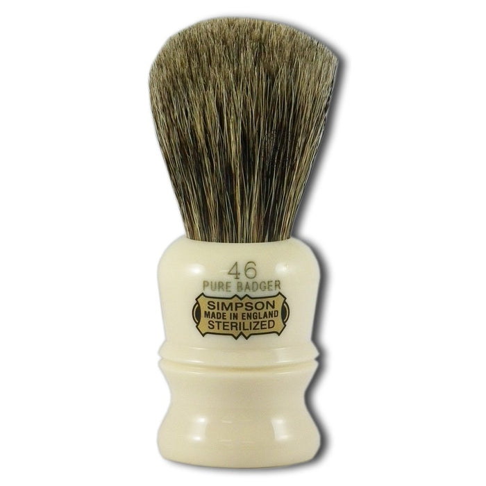 Simpsons, Simpsons Berkeley 46 Pure Badger Shaving Brush
