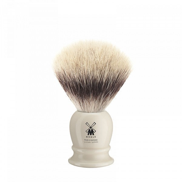 39K257 Shaving Brush Synthetic – Ivory Short 19 mm 0.75 inch