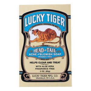 Lucky Tiger, Lucky Tiger Acne and Blemish Soap 85g