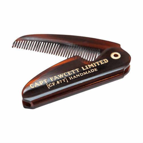 Folding Pocket Moustache Comb