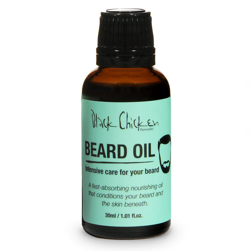 Black Chicken Remedies, Black Chicken Remedies - Beard Oil 30ml