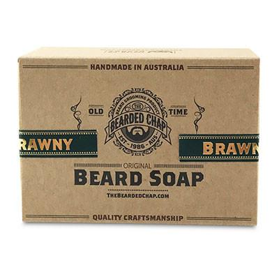 The Bearded Chap, The Bearded Chap Beard Soap 100g Brawny
