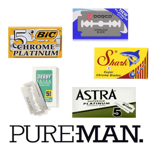 PUREMAN, Double Edge Razor Blade Pack (30)