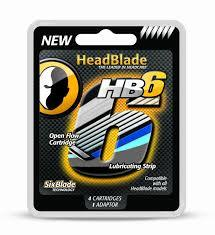 HeadBlade, HB6 Six blade