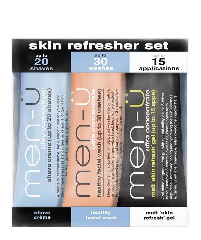 Skin Refresher Set Sample Pack 3 x 15ml
