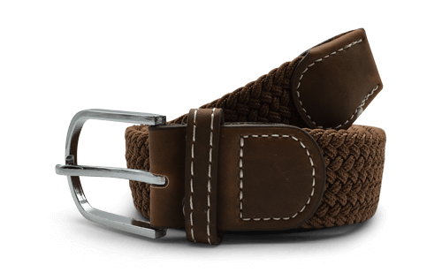 The Otto Tan Canvas Belt
