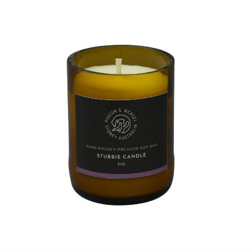 Pigeon and Weasel, Fig Stubbie Candle 150g