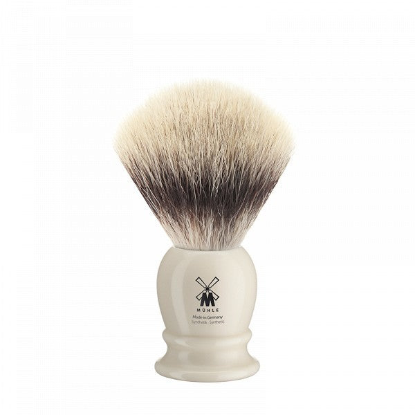 MÜHLE Mens Shaving, 31K257 Shaving Brush Synthetic - Ivory Medium