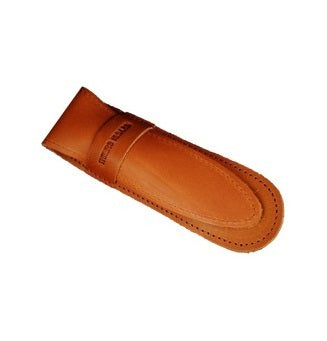 Brown Leather Razor Case