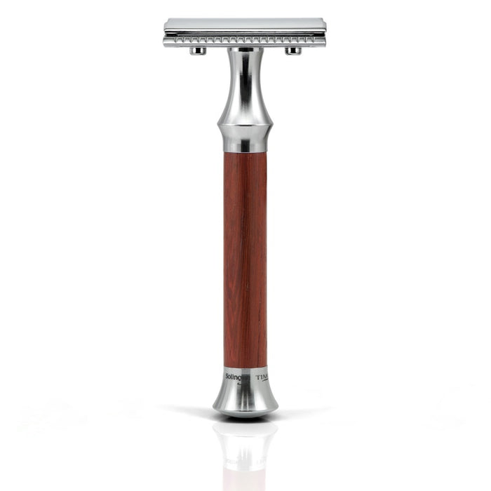 Giesen and Forsthoff, Timor 1363 Vermillion Safety Razor