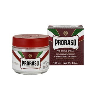 Proraso, Proraso Pre Shave Cream Sandalwood Oil & Shea Butter 100ml