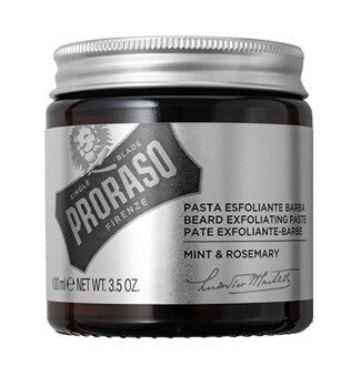 Proraso, Proraso Beard Exfoliating Paste - Mint and Rosemary 100ml