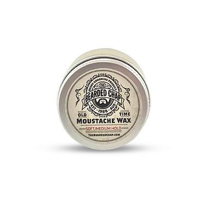 The Bearded Chap Old Time Moustache Wax 15ml