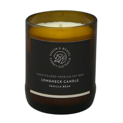 Vanilla Bean Long Neck Candle