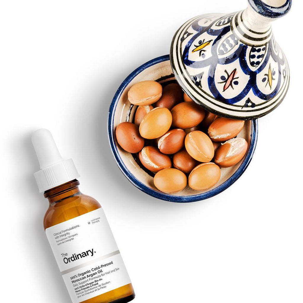 Image result for The Ordinary 100% Organic Cold-Pressed Argan Oil""