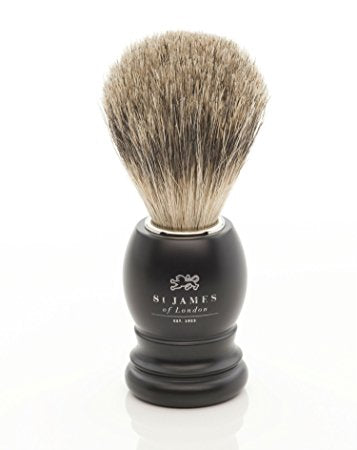 St. James of London | Ash Brush Matte Black