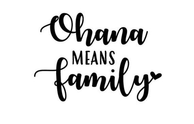 Ohana Means Family, And Family Means Nobody Gets Left Behind, Or Forgotten