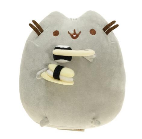 New 2017 Kawaii Brinquedos Pusheen Cat Sushi Angel Cookie Potato chips Doughnut Stuffed & Plush Animals christmas Toys for Girls