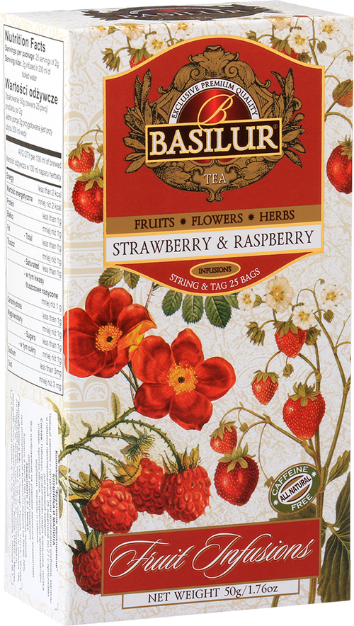 Fruit Infusion – Strawberry & Raspberry Tea
