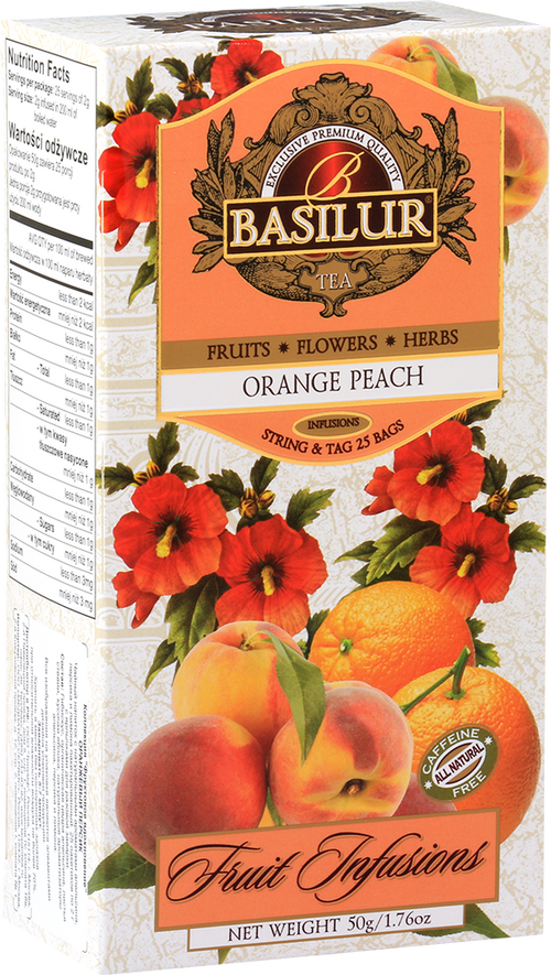 Fruit Infusion – Orange Peach Tea