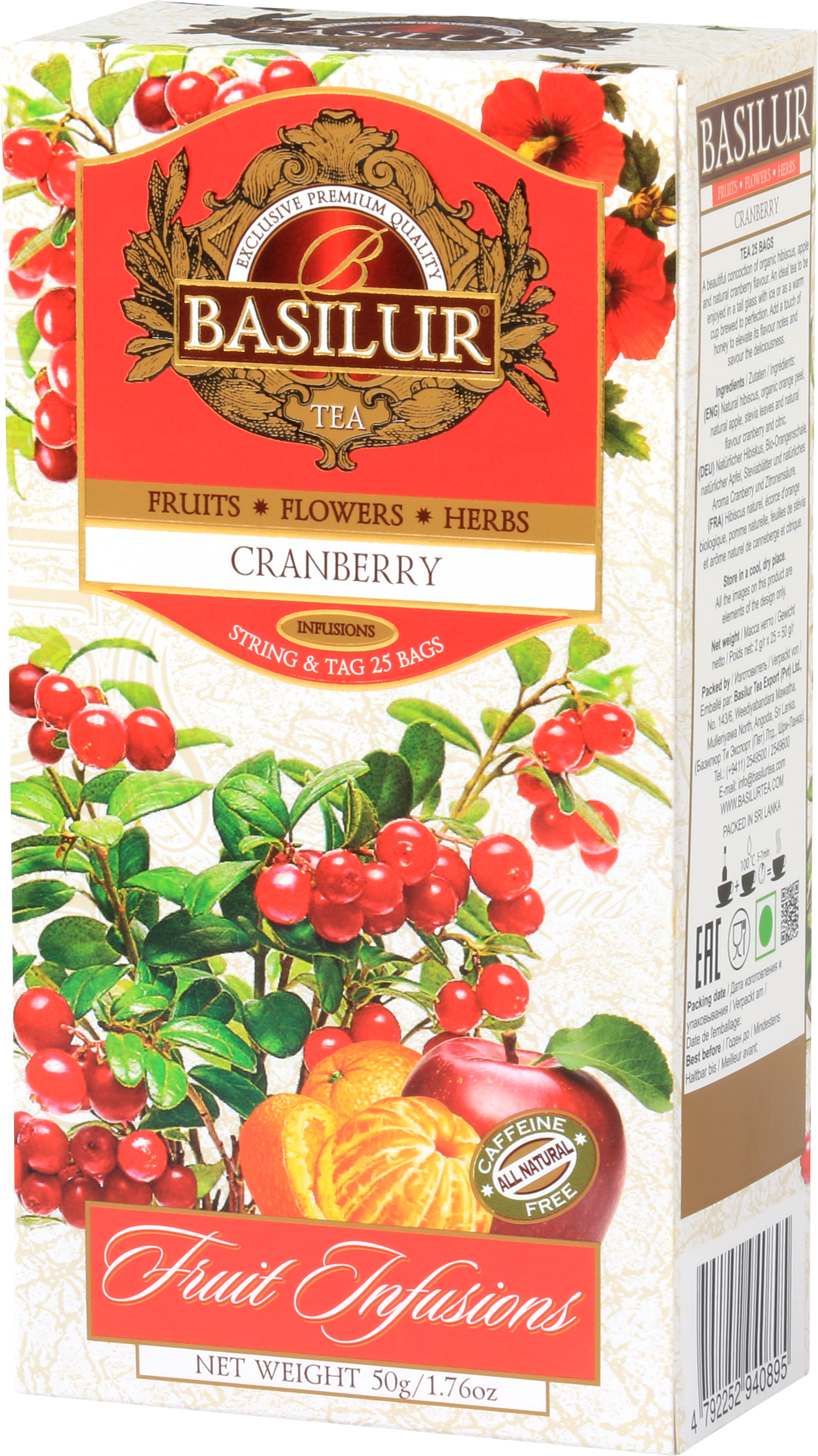 Fruit Infusion – Cranberry Tea
