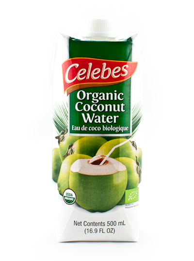 Celebes Organic Coconut Water 12 x 500 ml