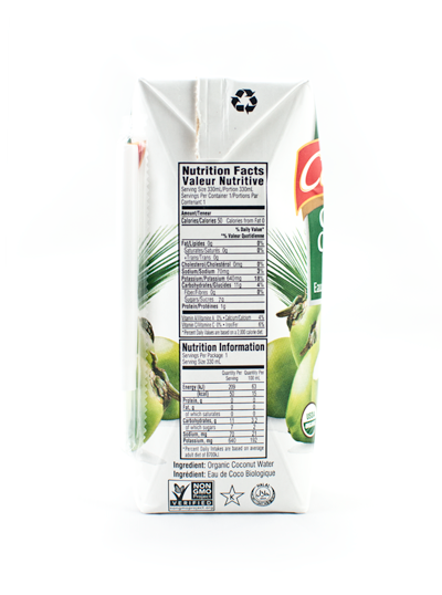 Celebes Organic Coconut Water 12 x 330 ml