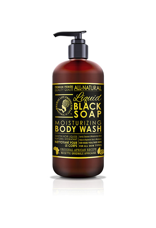 Mamas Life Liquid Black Soap Body Wash
