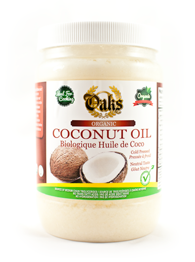 Oaks Organic Coconut Oil