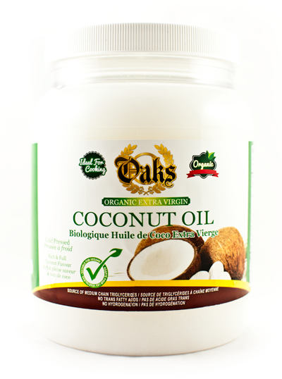 Oaks Organic EV Coconut Oil 54 Oz