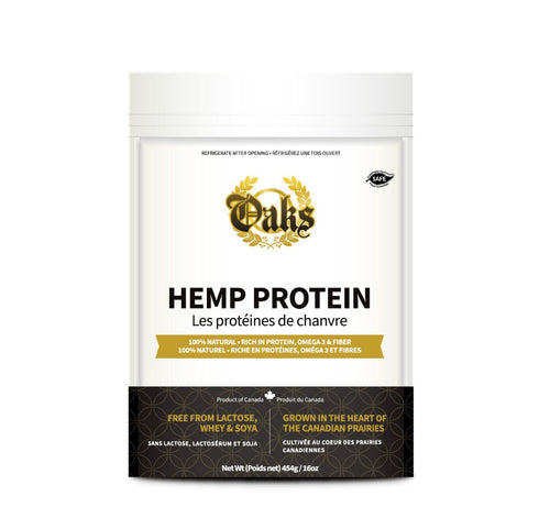 Oaks Safe and Kosher Hemp Protein