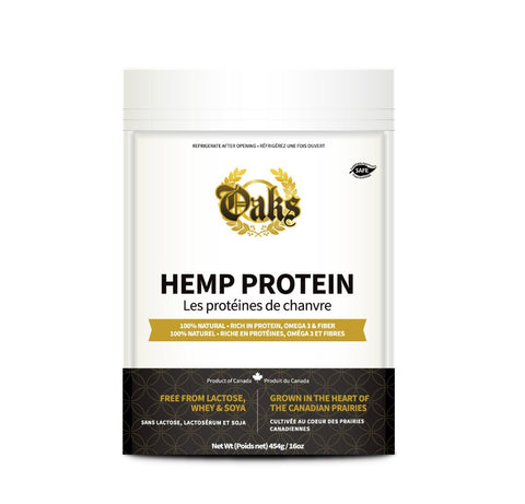 Oaks Safe and Kosher Shelled Hemp Seeds