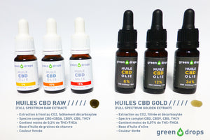 Huile CBD Gold 24% Green Drops | Green Doctor