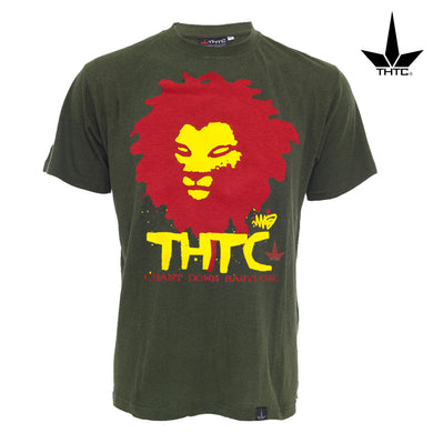 T-Shirt en chanvre THTC Chant Down Babylon XL | Green Doctor