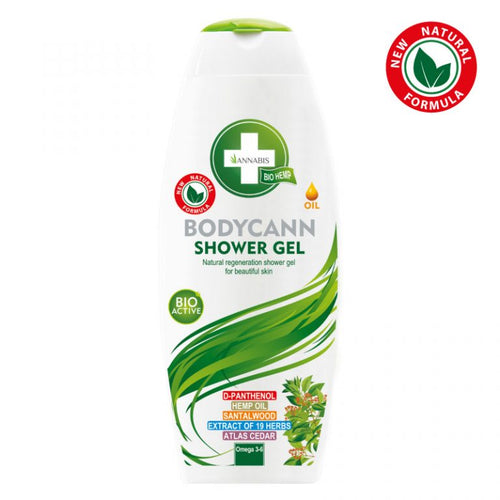 Bodycann Shower Gel Annabis 250 ml | Green Doctor