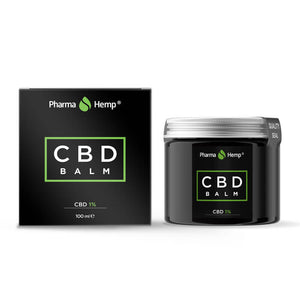 Baume au CBD Pharmahemp 1% 100ml | Green Doctor