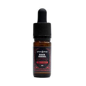 E-Liquide CBD Green Drops Sour Diesel | Green Doctor