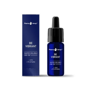 Be Vibrant CBD Water soluble 5% Pharmahemp 10 ml | Green Doctor