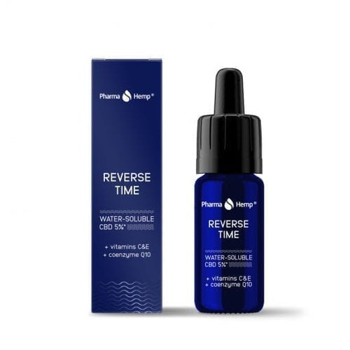 Reverse Time CBD Water soluble 5% Pharmahemp 10 ml | Green Doctor