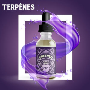 E-Liquide CBD Greeneo Grand Daddy Purple | Green Doctor