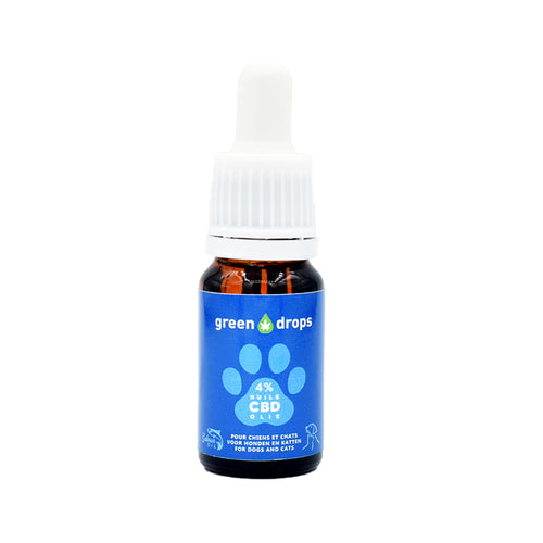 Huile CBD pour animaux Green Drops 4% | Green Doctor