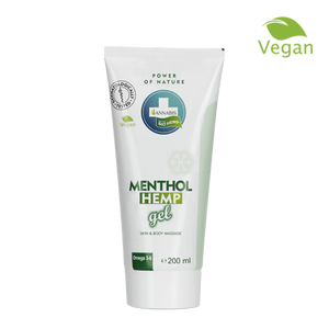 Menthol Hemp Gel Annabis 200 ml | Green Doctor