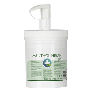 Menthol Hemp Gel Annabis 1000 ml | Green Doctor